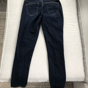 Gap dark wash straight leg jean